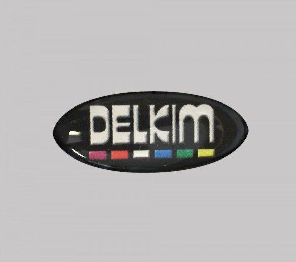 Bleu Métallique//Noir en Forme de Dôme Stickers//Decals Pour Delkim TXI PLUS EV alarmes #2