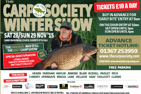The Winter Carp Society Show Delkim